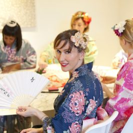 Japanese hen party theme