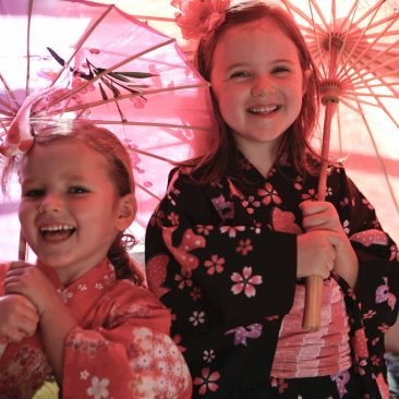 unique children's party ideas - kimono party