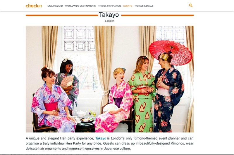 Takayo kimono party in trivago