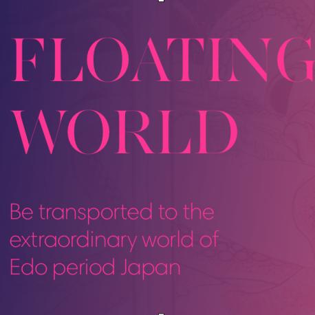 Floating world, unique event, japanese, immersive, art, japanese art