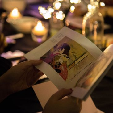 Floating World, Japanese event, Shunga, Immersive dining, kimono party