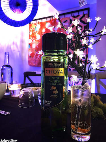 choya, choya umeshu, umeshu, choya extra years, aged liqueur, plum liqueur, plum wine, takayo, experiential marketing