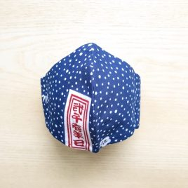 japanese tenugui mask dots