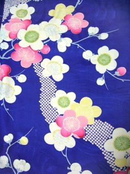 vintage plum kimono