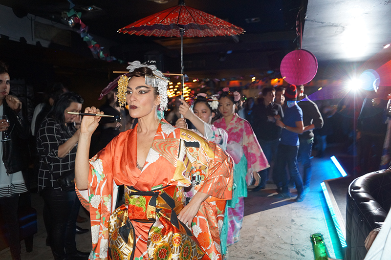 kimono burlesque, oiran