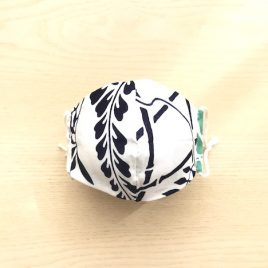 japanese tenugui mask beans reversible