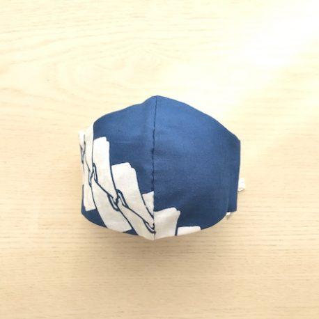 Japanese tenugui mask tsunagi